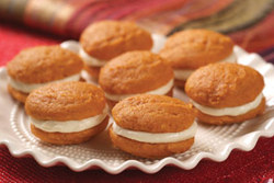 Mini Pumpkin Whoopie Pies from Very Best Baking