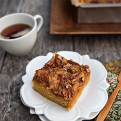 Pumpkin Pie Coffee Cake