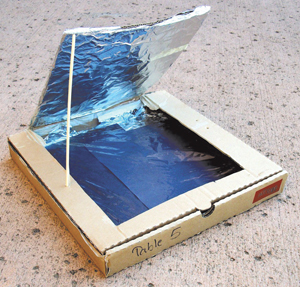 pizza box solar cooker kids science. Black Bedroom Furniture Sets. Home Design Ideas