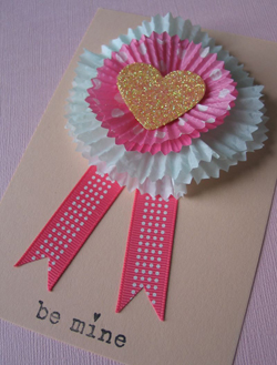 Cupcake Liner Cards from Urban Comfort