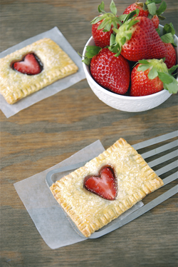 Strawberry Nutella Poptarts from The Novice Chef