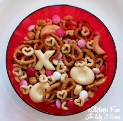 Valentine Love Mix from Kitchen Fun with My Sons
