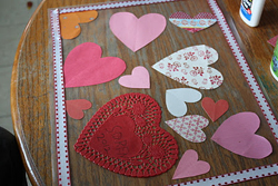 Valentine's Day Placemat from Katydid and Kid