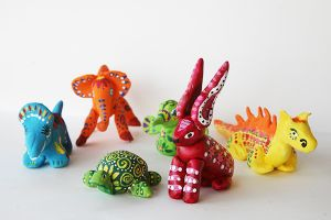 Art with Alyssa: Alebrijes, Mexican Folk Art Sculptures