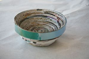 Art with Alyssa: Recycled Paper Bowl