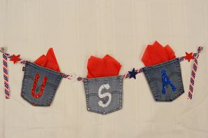 DIY Décor: Fourth of July Banner