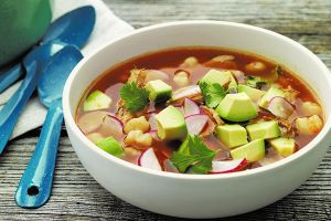 Chicken-Chile Pozole