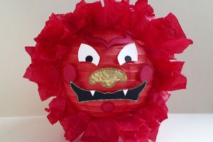 Chinese New Year Lion Lantern