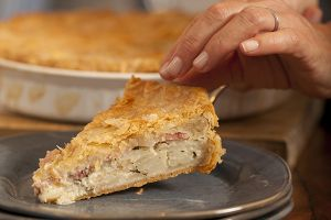 Melissa d'Arabian's Potato Bacon Torte