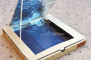 Pizza Box Solar Cooker: Kids Science