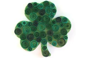 Swirly Shamrocks