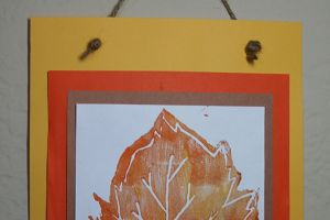 Art with Alyssa: DIY Fall Leaves