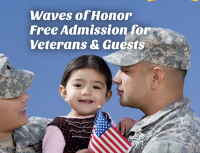 Waves of Honor Free Admission for Veterans & Guests at SeaWorld