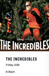 Family Movie Night: The Incredibles