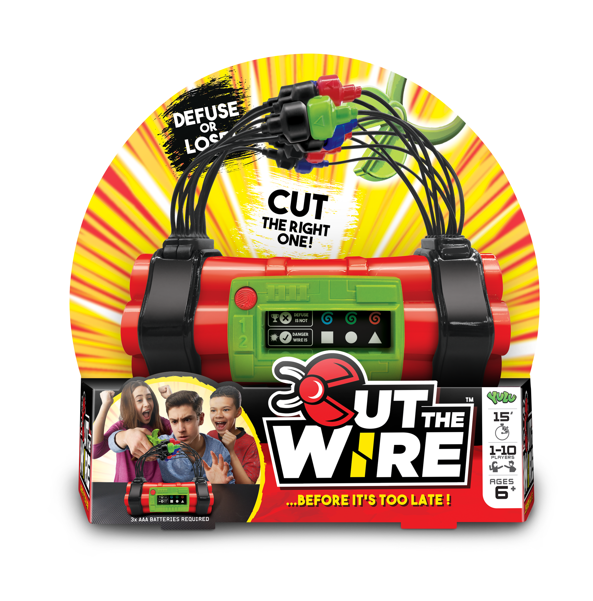 Cut The Wire Packshot
