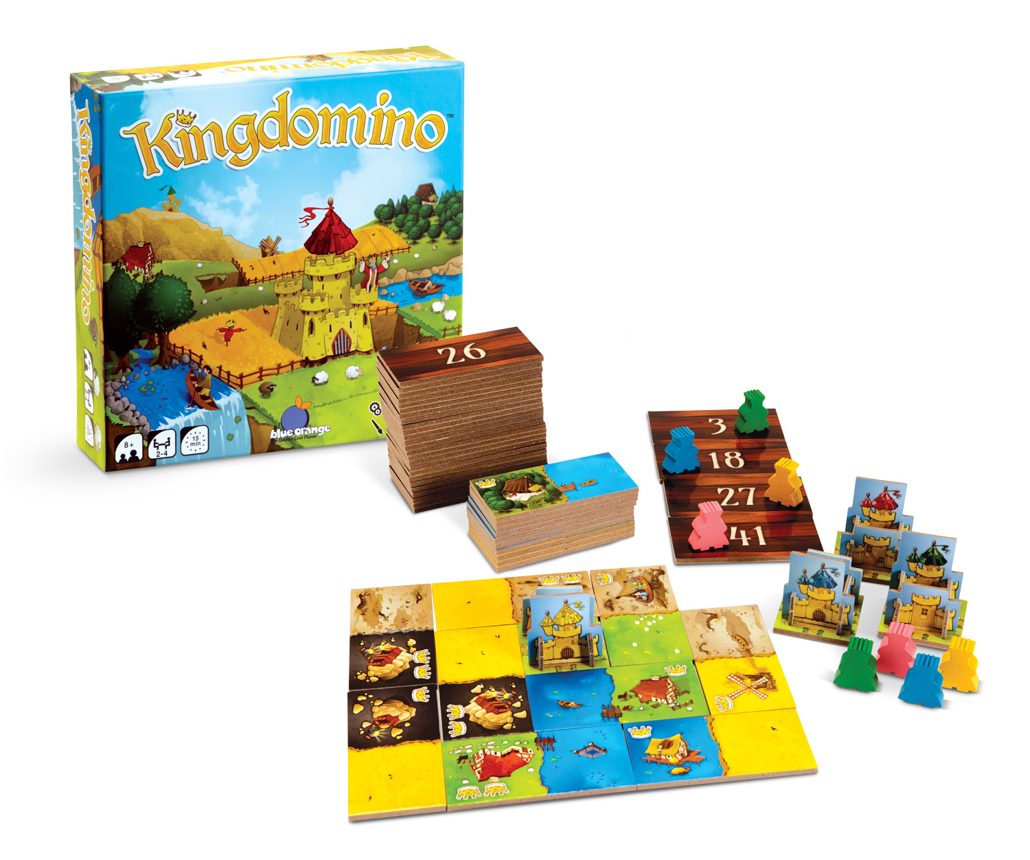 KingDomino Pkg GameOpen Flat