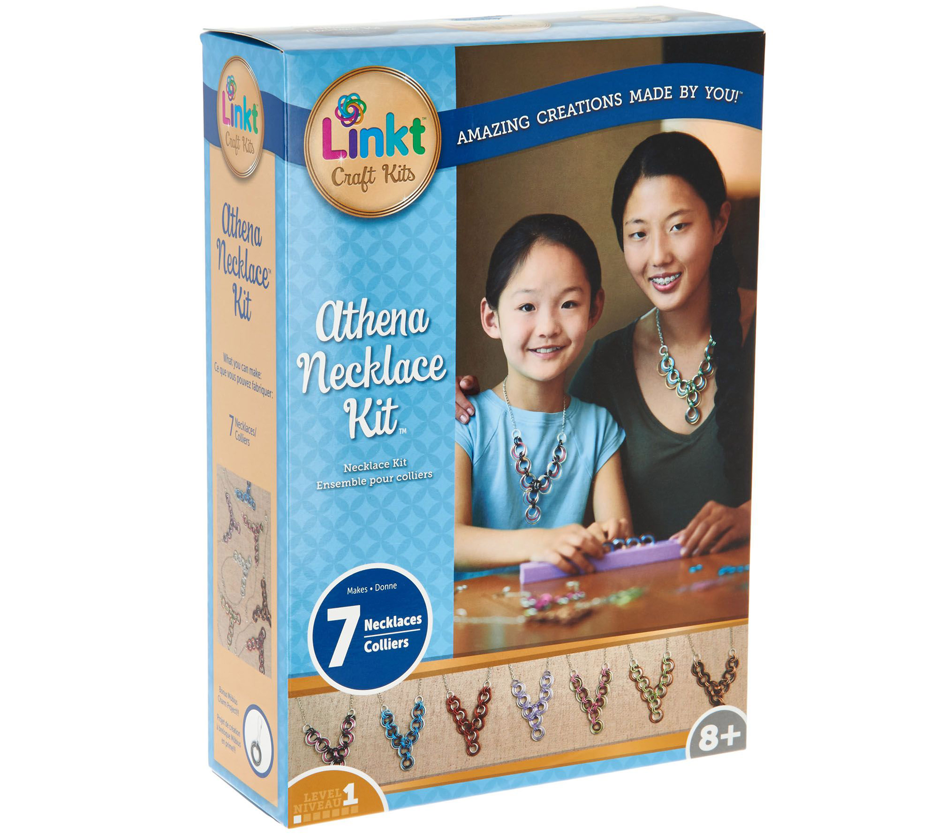 Linkt BOX Craft Kits Athena Necklace Kit A2317XX HR