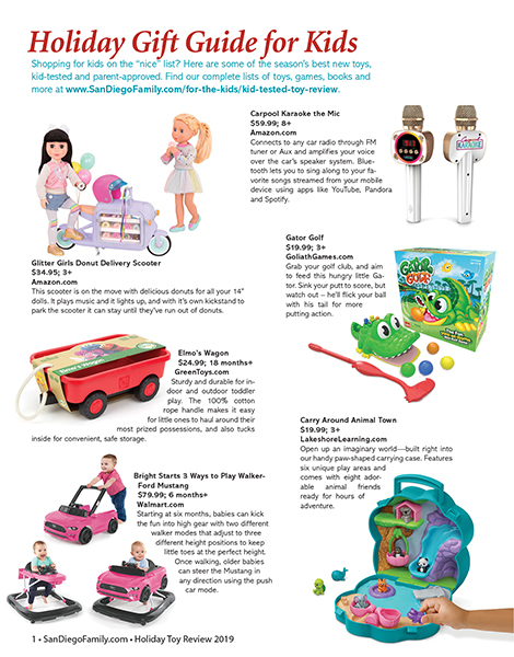 sample Toy Review page 2019