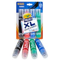 58 8356 0 300 Project XL Poster Markers Classic Colors 4ct MAIN
