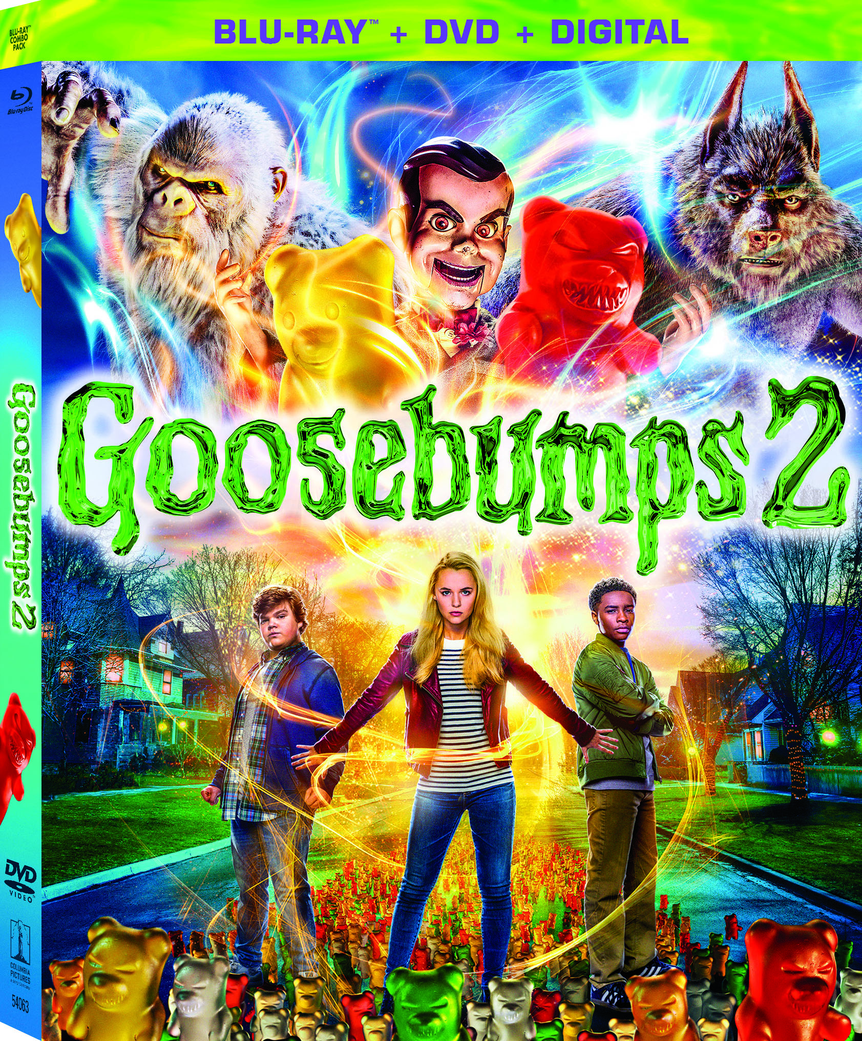 GooseBumps 2 2018 Bluray OuterSleeve FrontLeft