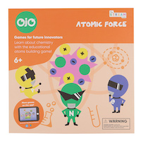 OjO BOARD GAMES atomic force front HR