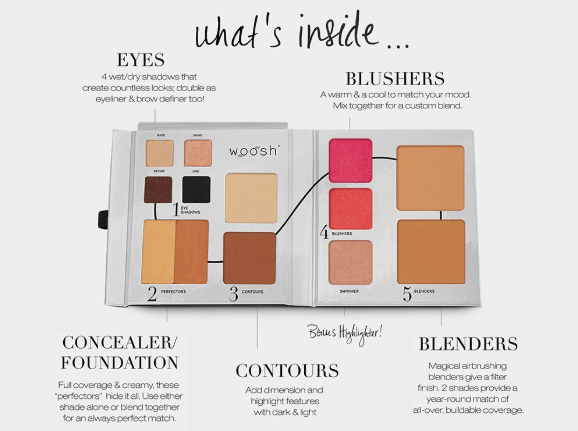 Woosh Beauty Fold Out Face Palette 2