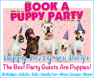 Puppy Party San Diego