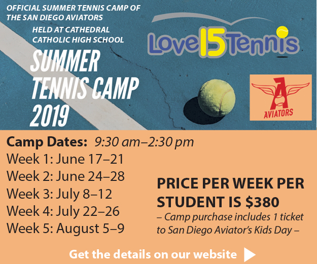 SD Aviators - Love 15 Tennis Camp
