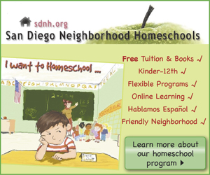 San Diego Neighborhood Homeschools