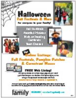 Halloween Fall Activities SDFM 2019