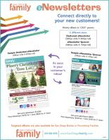 Connect directly to your new customers through our eNewsletter advertising.