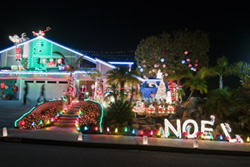 "7607 Romeria St., Nicknamed ""The Christmas House"""