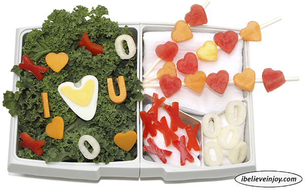 Bento Box Valentine's Lunch