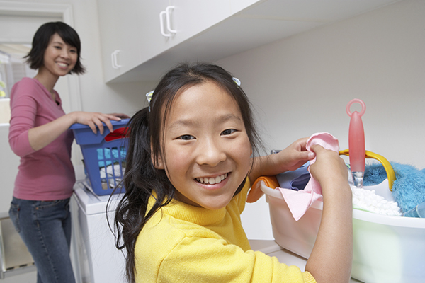 Your children can do housekeeping chores for you or for neighbors as a way to earn money.