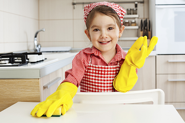 Children need chores to learn about responsibility.