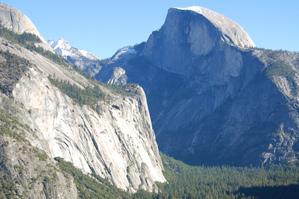 Half Dome is an icon of Yosemite.