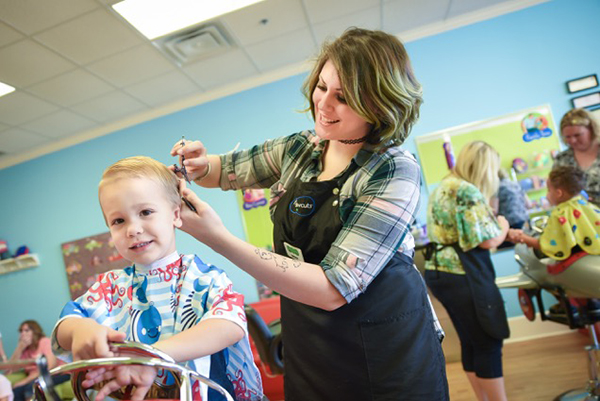 Pigtails is a place to take your little one for a fun haircut.