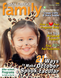 October 2012 issue: San Diego Family Magazine