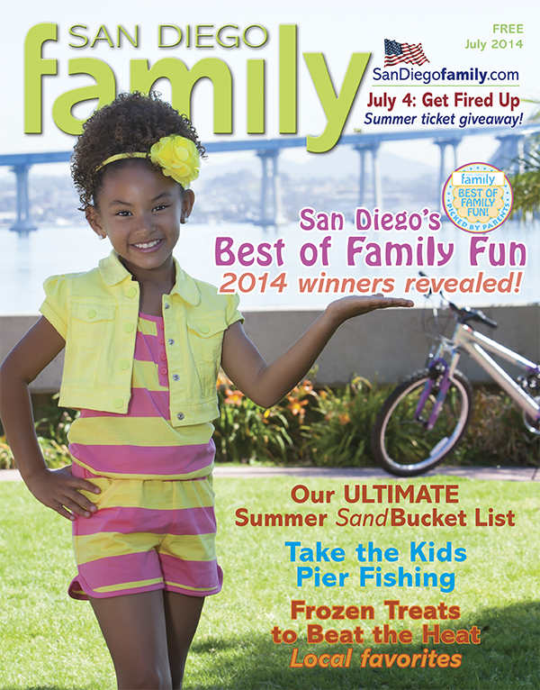 July 2014: San Diego Family Magazine