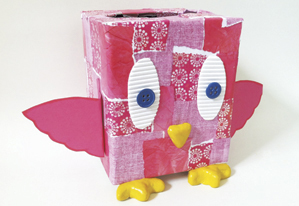 Mother S Day Idea Craft Bird Made From Box