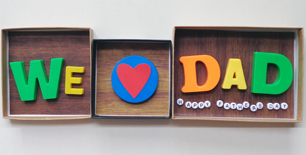 Make this Father's Day plaque.