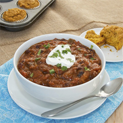 Pumpkin Chili from Sweet Pea's Kitchen