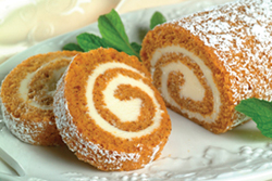 Pumpkin Roll from Very Best Baking