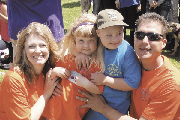 meet sharla hanks family of down syndrome action sm