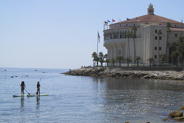 Paddleboarding is just one of the many fun things to do while visiting Catalina Island.