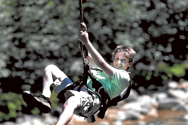 Go on a zipline adventure!