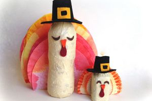 Thanksgiving Turkey Table Toppers