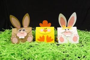 Bunny & Baby Chick Treat Bags