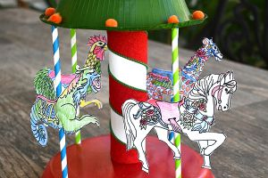 Craft a Paper Carousel