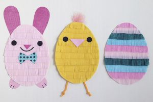 Fringed Easter Friends